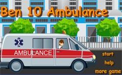 juego de ambulancia de ben 10