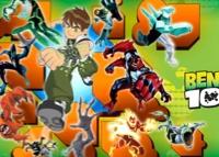 juego de jigsaw de ben 10 flash