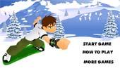 juego de ben 10 snowboard