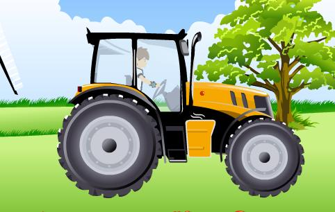 juego de tractor